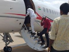 Congress Rebel Who Raised Karnataka Coalition's Hopes Flies To Mumbai