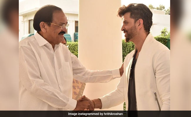 Hrithik Roshan 'Grateful For Feedback' From Vice President Venkaiah Naidu After Special Screening Of Super 30