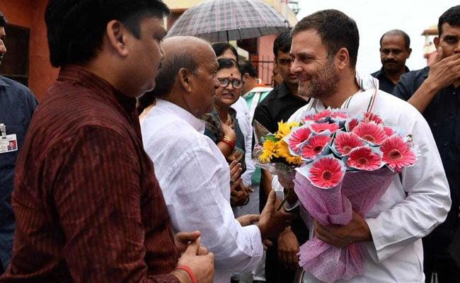 Rahul Gandhi Marks 10 Million Twitter Count In Amethi, Thanks Followers