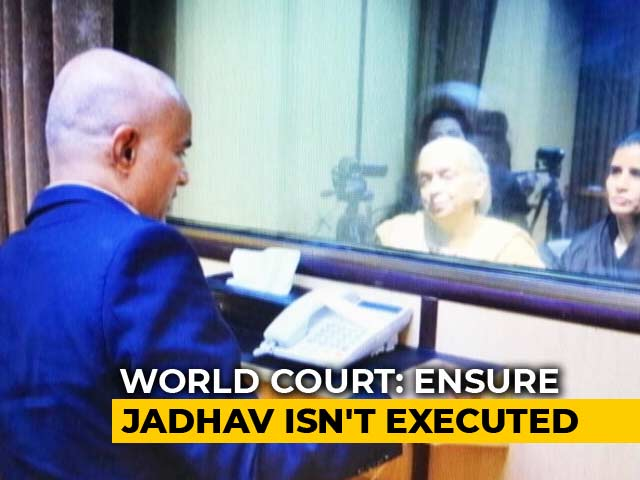 Video : World Court Stays Kulbhushan Jadhav's Execution, Grants India Consular Access