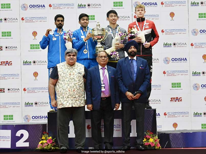 Commonwealth TT Championships: Indians Complete Sweep; Harmeet Desai, Ayhika Mukherjee Win In Singles