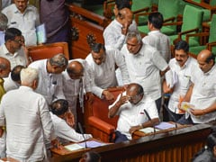 Karnataka Crisis: Karnataka Coalition, Hit By Resignations, Faces Floor Test on Thursday