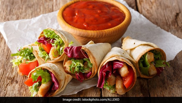 Watch: Turn Your Leftover Rotis Into Cheesy Veggie Roti Cones