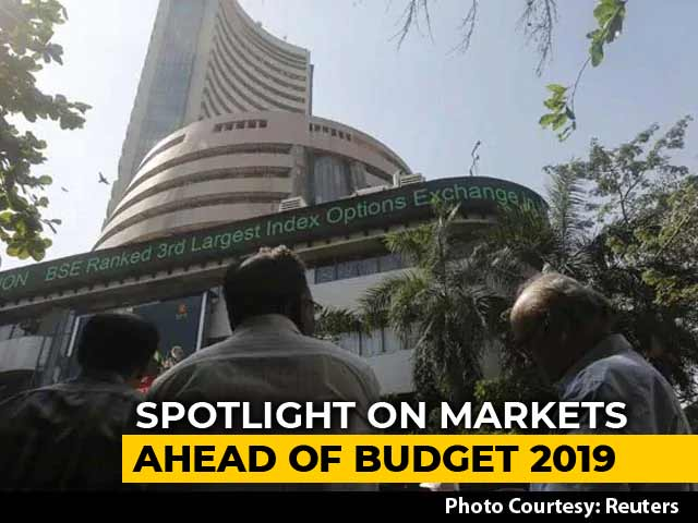 Video : Sensex, Nifty Edge Higher Ahead Of Economic Survey