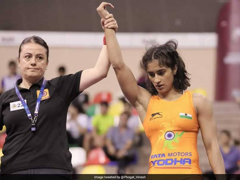 Wrestler Vinesh Phogat Wins Second Gold On The Bounce