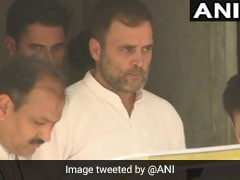 """""""Thanks For Opportunities"""": Rahul Gandhi Tweets On BJP-RSS Opponents"""