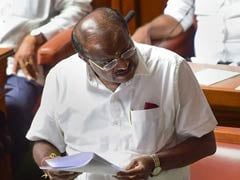 """40-50 Crore Bribe To Lure Lawmakers,"" HD Kumaraswamy Blasts BJP"