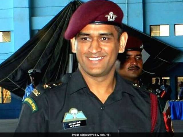 MS Dhoni Gets Permission From Army Chief To Train With Territorial Army