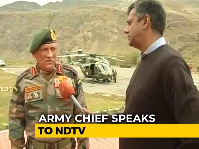 Video : Don't Need To Protect Dhoni, He'll Be Protecting Citizens: Army Chief