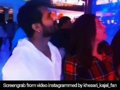 Bhojpuri स्टार खेसारी लाल यादव और काजल राघवानी पहुंचे दुबई, मॉल में इस चीज़ को देख दोनों हुए हैरान, Video Viral