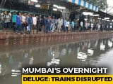 Video : Passengers Stranded At Mumbai's Sion Railway Station After Heavy Rains