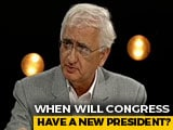 Video : Don't Know Why New Congress Chief Not Chosen Yet, Says Salman Khurshid