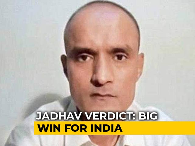 Video : Kulbhushan Jadhav Death Sentence Suspended, Says World Court