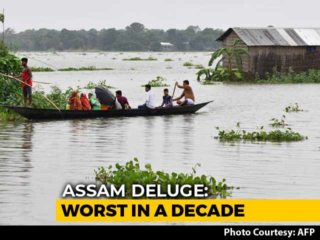 Video : 15 Lakh Affected By Assam Floods, At Least 7 Dead
