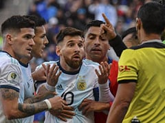 Lionel Messi Given One-Match Ban For Copa America Red Card