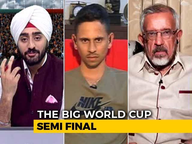 "Video : ""Happy"" Headache For India Ahead Of World Cup Semi-Final vs New Zealand"