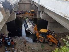 29 Dead As Bus Falls Off Yamuna Expressway Near Delhi, Driver Dozed Off