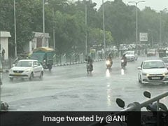 Rains Lash Parts Of Delhi, Bring Down Temperature