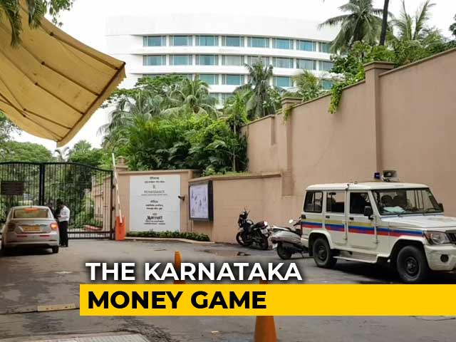 Video : Seen At Karnataka Rebels' Hotels, Mumbai BJP Leaders Claim Coffee, Dinner