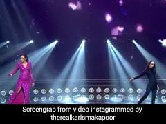 करिश्मा कपूर ने 20 साल पुराने गाने पर किया कंटेस्टेंट के साथ मुकाबला, देखें ये धांसू Video