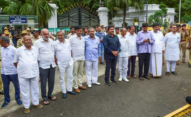 """""""Have Right To Resign"""": Disqualified Karnataka MLAs To Top Court"""