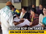 Video : Assam BJP Slams Citizens' List Officer For Rejected Re-Verification Plea