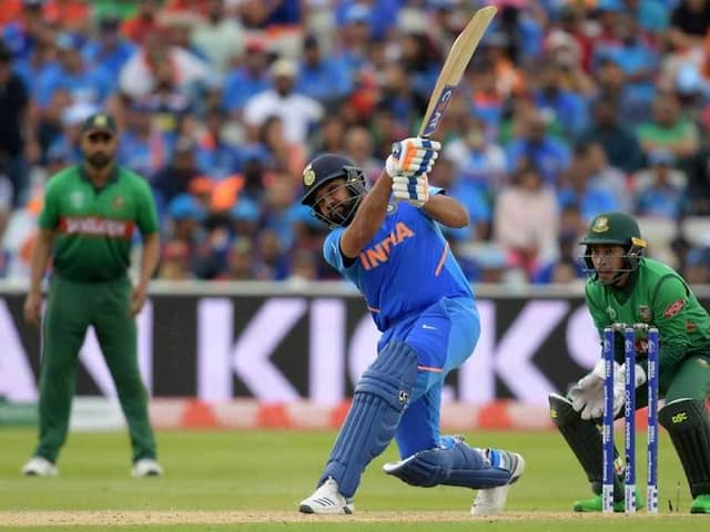 Rohit Sharma Scores 4th Century In One World Cup, Most By Any Indian Batsman