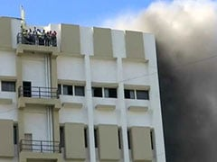 Fire At MTNL Building In Mumbai's Bandra, Dozens Trapped On Terrace