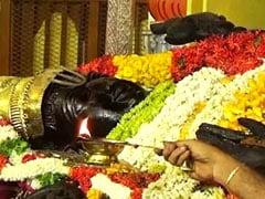 அத்திவரதர் தரிசனத்தின்போது காணிக்கையாக வந்தது ரூ.1000 கோடியா..?
