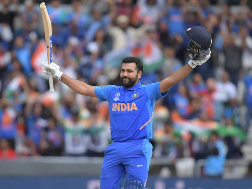 Rohit Sharma Makes ICC's Top Five