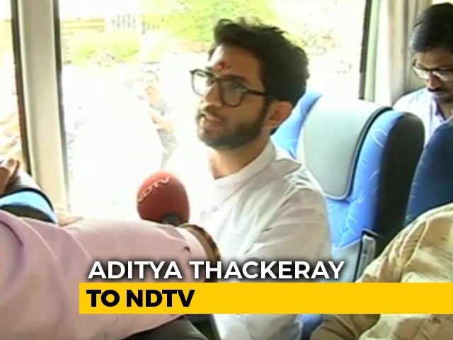 Video : Is Aditya Thackeray Running For Maharashtra Chief Minister? His Response