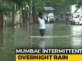 Video : 11 Flights Cancelled, Train Services Hit After Overnight Rain In Mumbai
