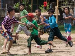 Dung And Dragons: Kids Dodge Cows To Play Rugby