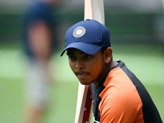 Prithvi Shaw Named In Mumbai