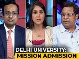 Video : With 99% Cutoff, Students Vie For Seats In Delhi University