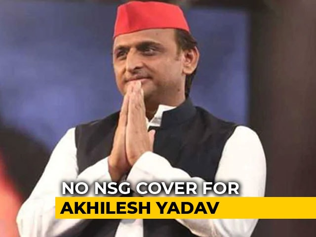 Video : Akhilesh Yadav To Lose Top Security Cover After Centre's Review: Sources