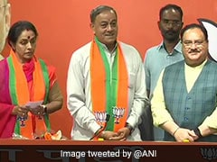 Ex-Rajya Sabha Member Sanjay Singh, Wife Join BJP Day After Quitting Congress