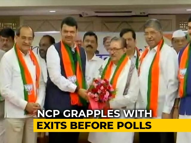 Video : 4 Opposition Lawmakers In Maharashtra Quit Ahead Of Polls, May Join BJP