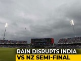 Video : World Cup: Rain Stops Play With New Zealand 211/5 In 46.1 Overs