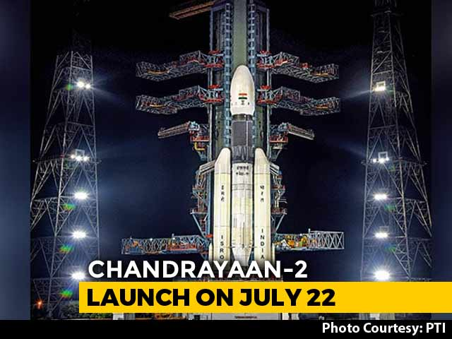 Video : Chandrayaan 2 To Lift Off On July 22 After Aborted Launch