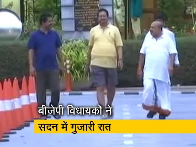 Video : कर्नाटक के 'स्वामी' पर संकट जारी