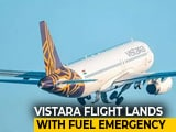 Video : Vistara Flight Lands In Lucknow With Just 10 Minutes Of Fuel Remaining