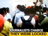Video : Journalists Locked Up As Yogi Adityanath Visits Hospital? Officials Deny