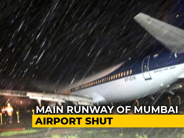 Video : Mumbai Airport's Main Runway Shut, May Take 48 Hours To Restore Ops