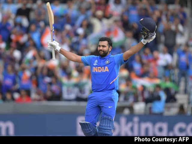 Rohit Sharma Scores Third Century In World Cup 2019, Set To Enter Record Books