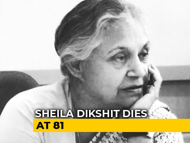Video : Sheila Dikshit, Chief Minister For 15 Years, Known For Transforming Delhi