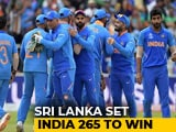 World Cup: Bumrah Takes 3 But Mathews Ton Helps Sri Lanka Post 264/7