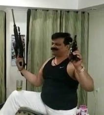 BJP Lawmaker Seen Waving Guns On Video Expelled By Party For 6 Years