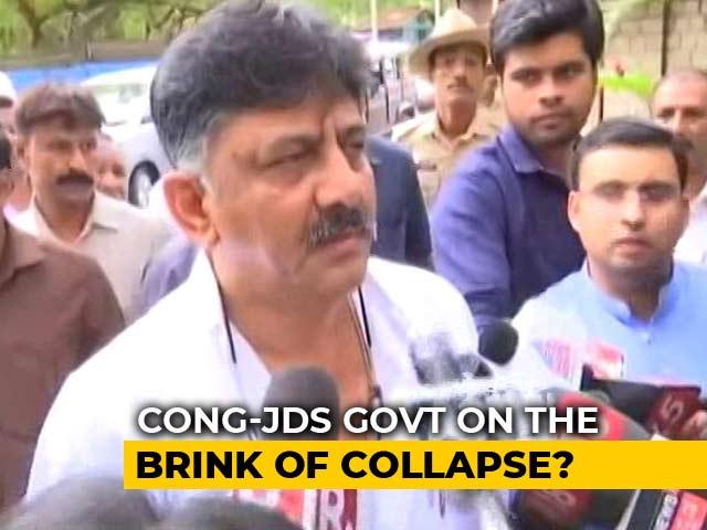 "Video : ""Yes, I Tore Up Resignation Letters"": Karnataka Congress's DK Shivakumar"