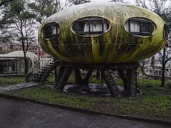 Believed To Be Haunted, This Abandoned Town Has Houses Shaped Like UFOs